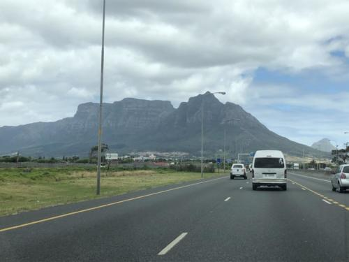 DEVILS PEAK WELCOMES US TO CAPE TOWN